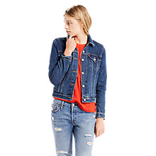 Buy Levi's Original Trucker Jacket, Night Dune Online at johnlewis.com