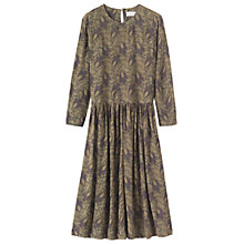 Buy Toast Lake Dahl Printed Dress, Slate Online at johnlewis.com