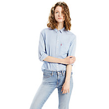 Buy Levi's Classic One Pocket Shirt, Light Mariss Online at johnlewis.com