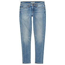 Buy Levi's 711 Mid Rise Skinny Jeans, Miles To Go Online at johnlewis.com