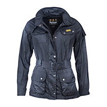 Buy Barbour International Sprocket Cove Casual Jacket, Black Online at johnlewis.com