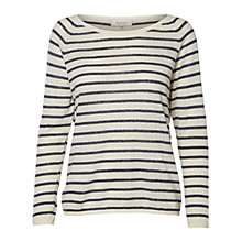 Buy Selected Femme Nive Stripe Jumper Online at johnlewis.com