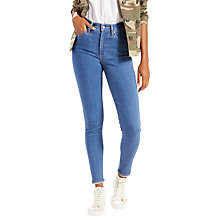 Buy Levi's Mile High Super Skinny Jeans, Outta Sight Online at johnlewis.com