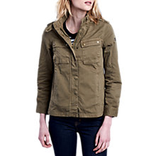 Buy Barbour International Tachometer Jacket, Khaki Online at johnlewis.com