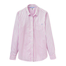 Buy Joules Lucie Stripe Shirt, Pink Stripe Online at johnlewis.com