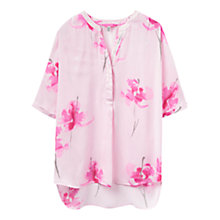 Buy Joules Rosalyn Blouse, Pink Orchid Online at johnlewis.com