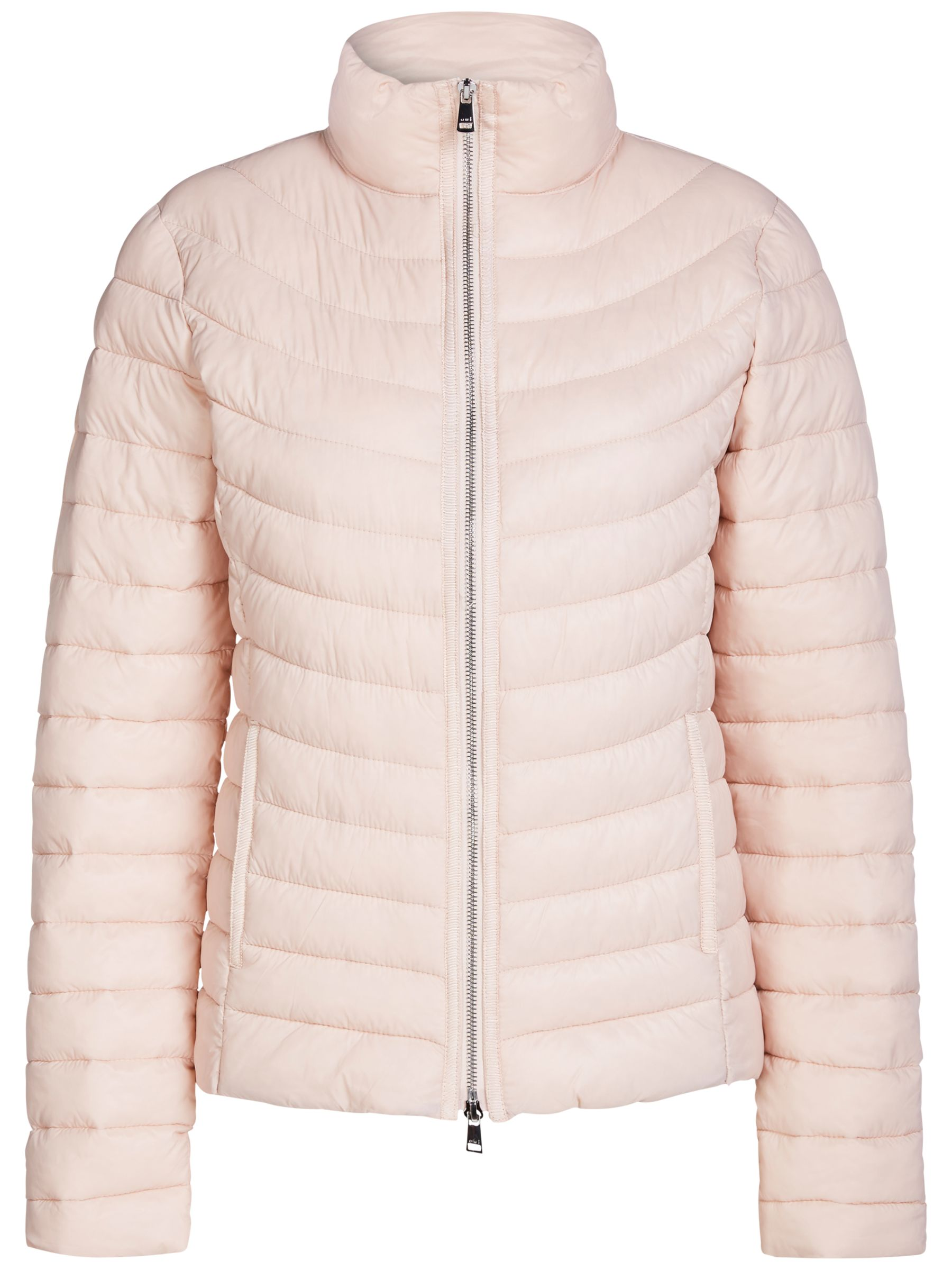 Oui Oui Quilted Faux Down Coat