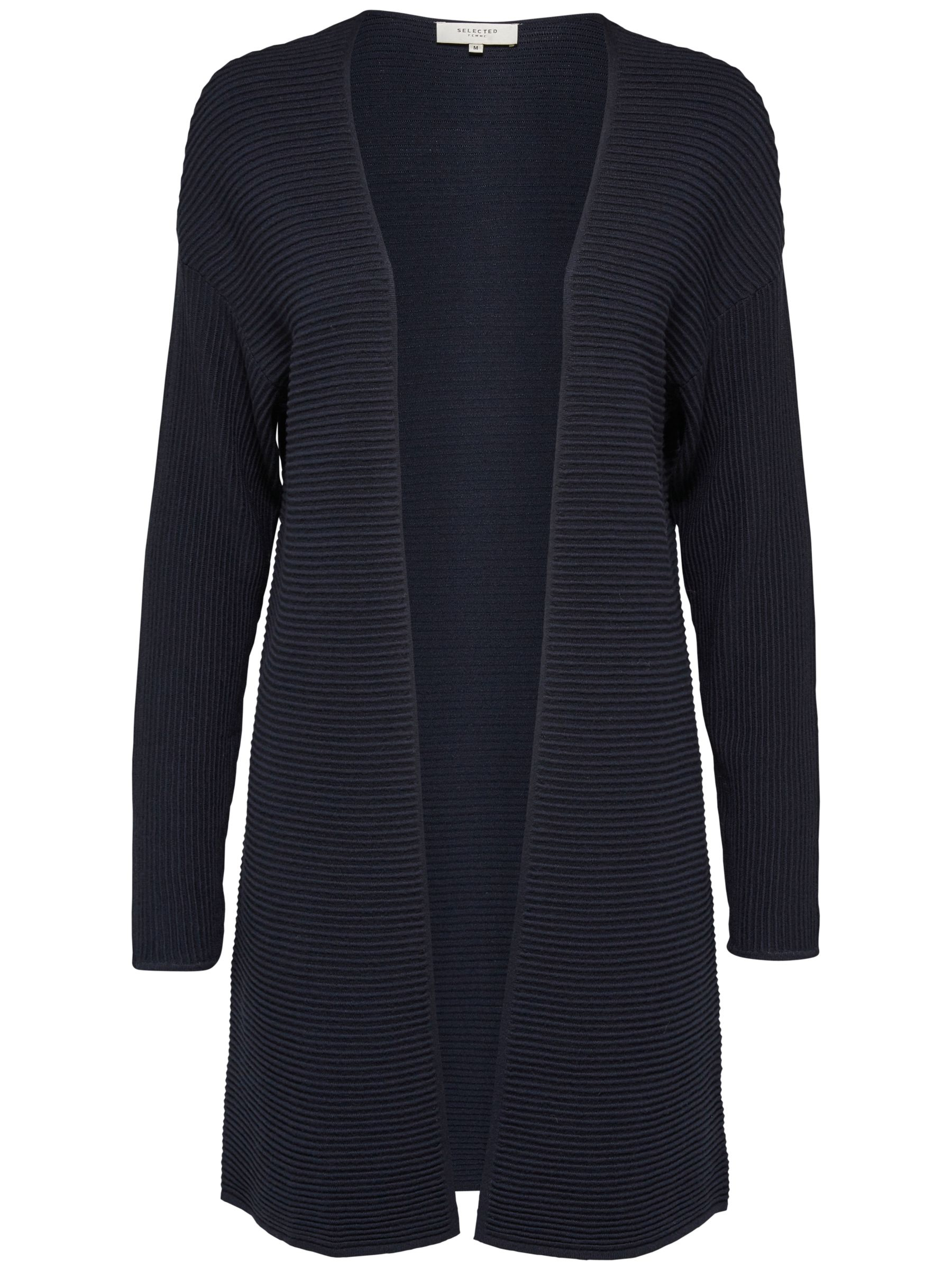 Selected Femme Selected Femme Aura Cardigan, Dark Sapphire