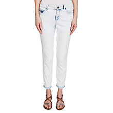 Buy Oui Denim Jeans, Light Blue Online at johnlewis.com