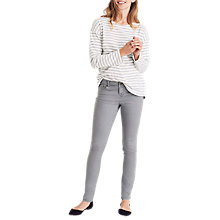 Buy Joules Monroe Skinny Jeans, Grey Wash Online at johnlewis.com