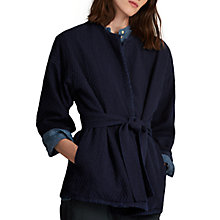 Buy Toast Matelasse Jacket, Indigo Online at johnlewis.com
