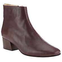 Buy Jigsaw Vita Block Heeled Ankle Boots Online at johnlewis.com