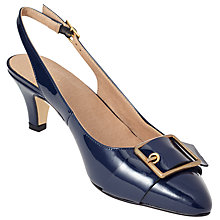 Buy John Lewis Amazing Buckle Slingback Court Shoes Online at johnlewis.com