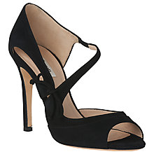 Buy L.K. Bennett Lucile Peep Toe Stiletto Sandals , Black Online at johnlewis.com