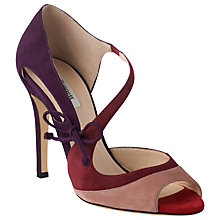 Buy L.K. Bennett Lucile Peep Toe Stiletto Sandals Online at johnlewis.com