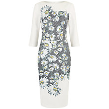 Buy Damsel in a dress Mixed Daisy Dress, Black/Ivory Online at johnlewis.com