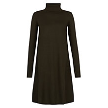 Buy Hobbs Tina Dress, Khaki Online at johnlewis.com