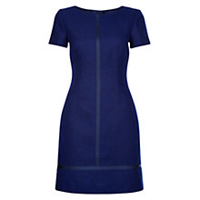 Buy Hobbs Dartmouth Dress, Cobalt/Navy Online at johnlewis.com