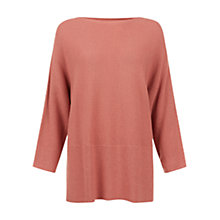 Buy Hobbs Silvie Jumper, Rose Pink Online at johnlewis.com