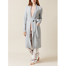 Buy Hobbs Celestial Cashmere Robe, Soft Grey Mel Online at johnlewis.com