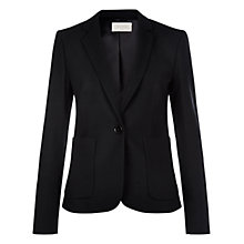 Buy Hobbs Gael Jacket, Black Online at johnlewis.com