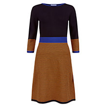 Buy Hobbs Phoebe Dress, Navy/Multi Online at johnlewis.com