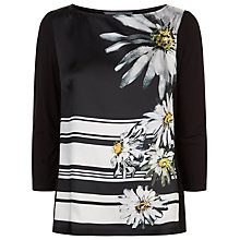 Buy Damsel in a dress Stripe Daisy Top, Multi Online at johnlewis.com