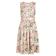 Buy Hobbs Kiri Dress, Spring Blush Online at johnlewis.com