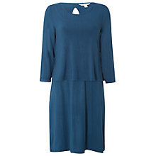 Buy White Stuff Cranberry Double Layer Dress, Cavolo Teal Online at johnlewis.com