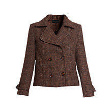 Buy Urban Touch Wool Short Jacket, Brown Online at johnlewis.com