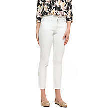 Buy NYDJ Clarissa Skinny Ankle Jeans, Optic White Online at johnlewis.com