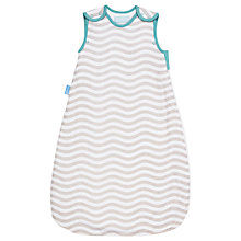 Buy Grobag Baby Striped Dot Sleep Bag, Pack of 2, 1 Tog, White/Multi Online at johnlewis.com