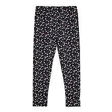 Buy Jigsaw Girls' Ditsy Dandelion Leggings, Navy Online at johnlewis.com