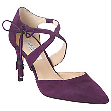 Buy L.K. Bennett Loren Suede Court Shoes Online at johnlewis.com
