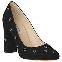 Buy L.K. Bennett Marta Round Toe Court Shoes, Black Online at johnlewis.com