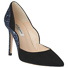 Buy L.K. Bennett Roselle Suede Court Shoes Online at johnlewis.com