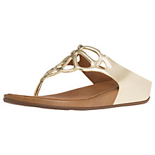Buy FitFlop Bumble Toepost Sandals Online at johnlewis.com