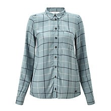 Buy Numph Bjarma Check Shirt, Slate Online at johnlewis.com