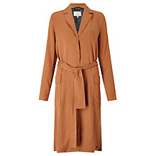 Buy Numph Irja Trench Coat, Pecan Brown Online at johnlewis.com