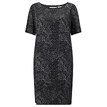 Buy Numph Jenetta Printed Dress, Caviar Online at johnlewis.com