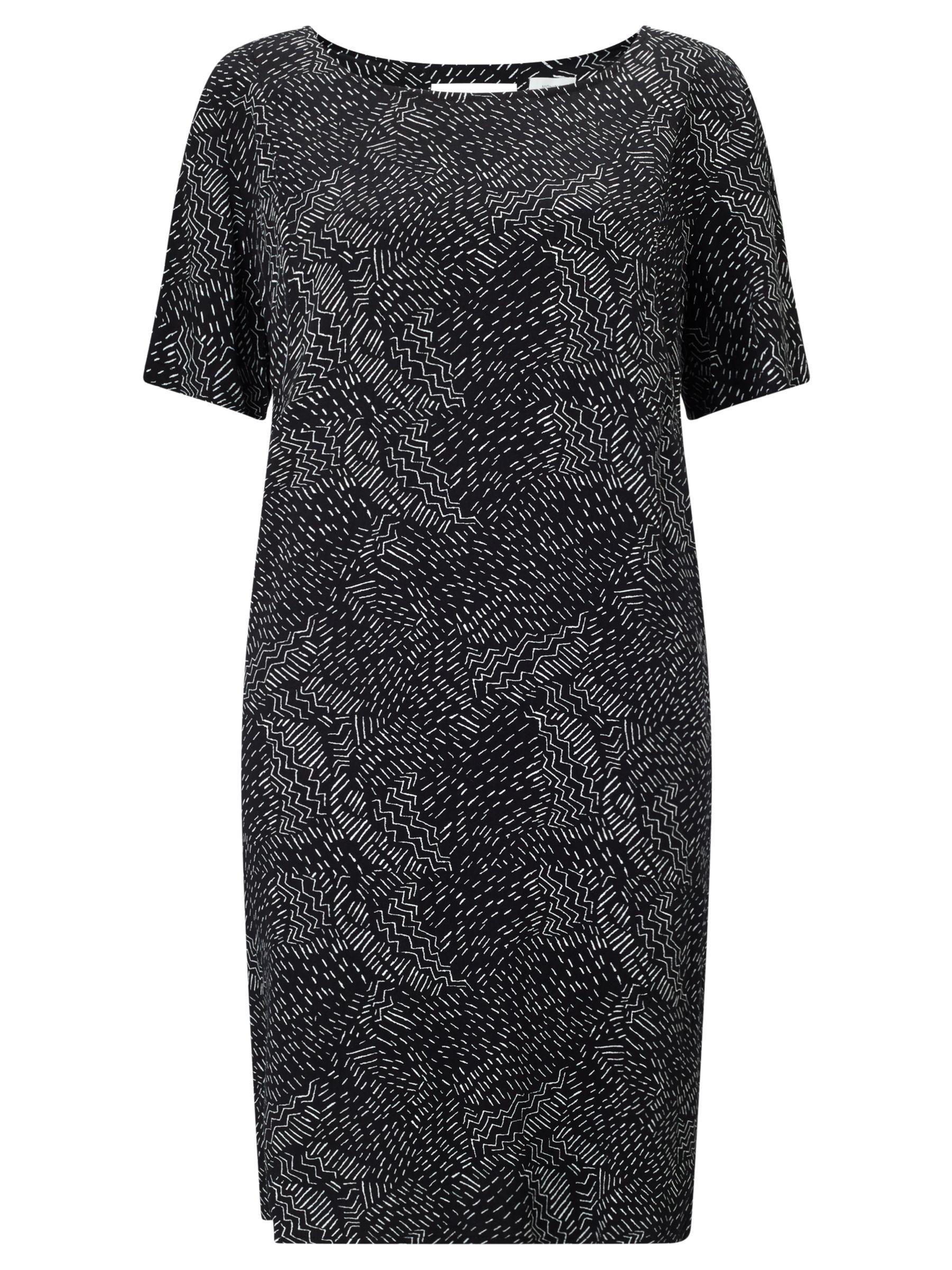 Numph Numph Jenetta Printed Dress, Caviar