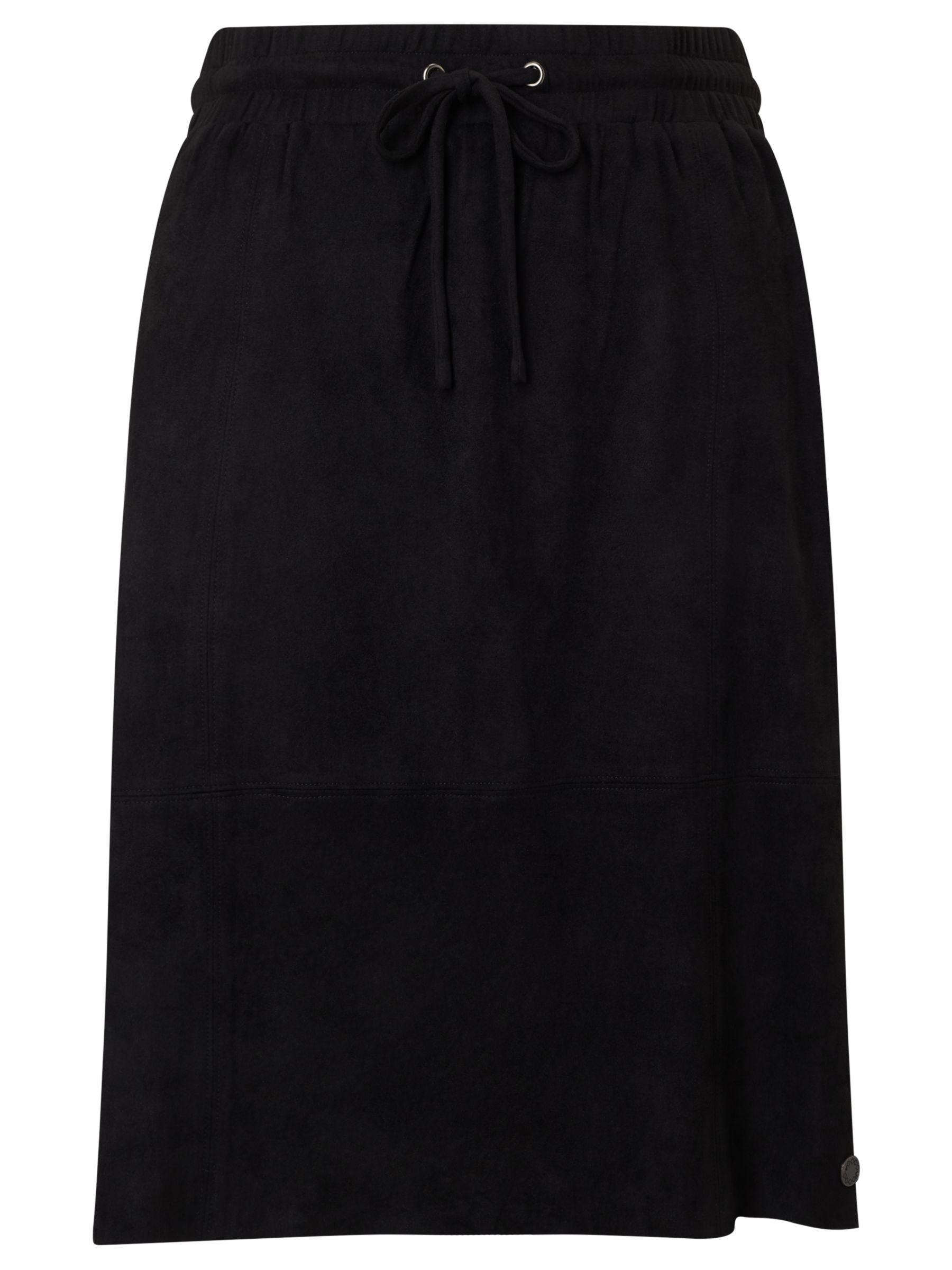 Numph Numph Bergdis Drawstring Skirt, Caviar