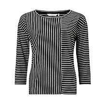 Buy Numph Drauma Stripe Top, Cloud Dance Online at johnlewis.com