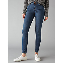 Buy Pieces Delly Skinny Jeans, Medium Blue Online at johnlewis.com