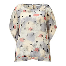Buy Numph Bremdis Printed Top, Multi Online at johnlewis.com
