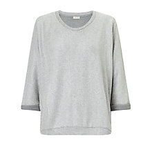 Buy Numph Vasil Sweatshirt, Silver Online at johnlewis.com
