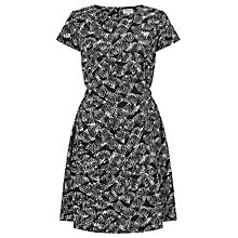Buy People Tree Danielle Dress, Black/White Online at johnlewis.com