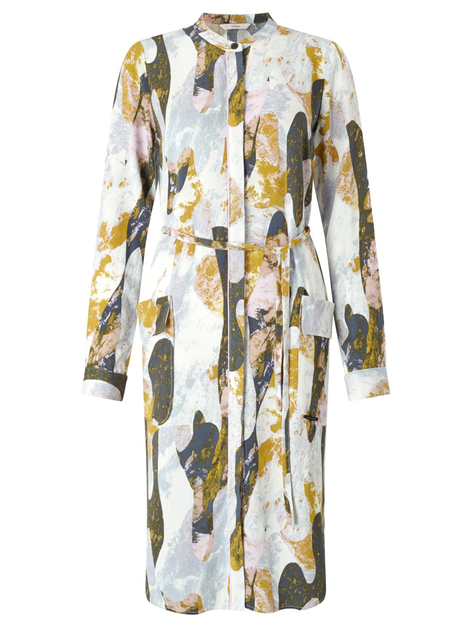Numph Numph Jokla Printed Shirt Dress, Multi