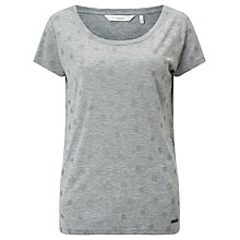 Buy Numph Metallic Spot T-Shirt, Grey Online at johnlewis.com