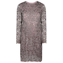Buy True Decadence Lace Dress, Dusty Lilac Online at johnlewis.com
